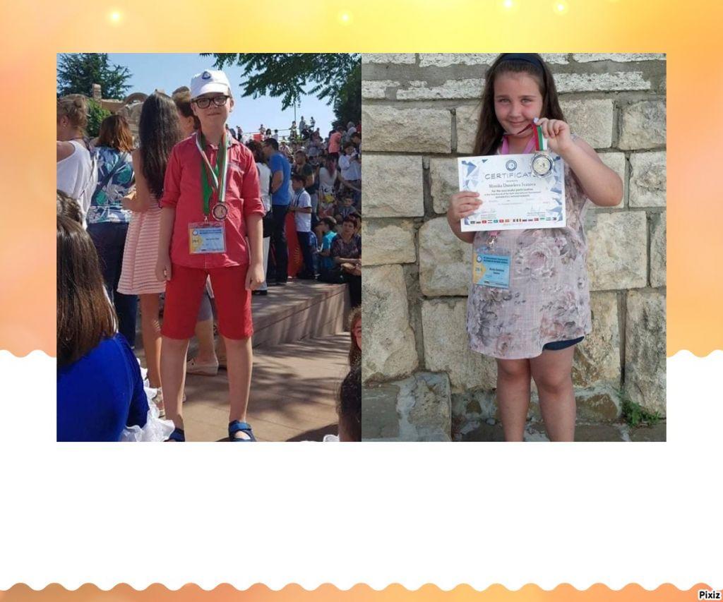 """Сребърен и бронзов медал от Финалния етап на """"Математика без граници"""" - голяма снимка"""